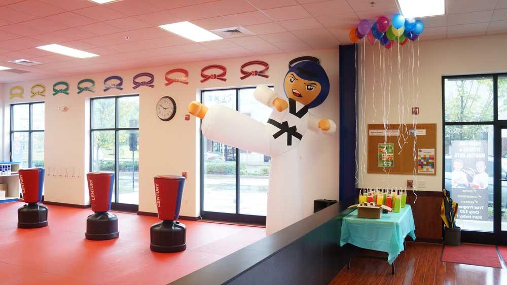 Tiger World Class Taekwondo & Family Martial Arts Birthday Decorations and Balloons